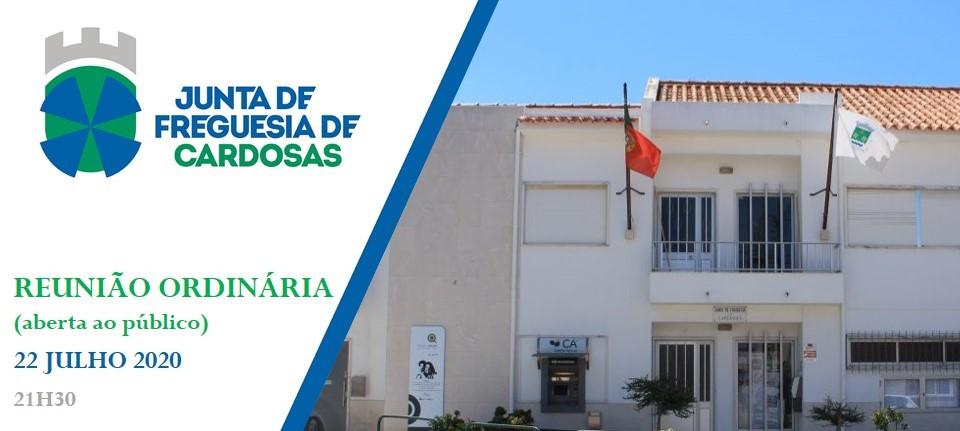 22 de julho de 2020 - Reunião Ordinária da Junta de Freguesia